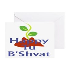 Happy Tu BShvat Greeting Card
