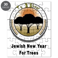 Jewish New Year Trees Puzzle