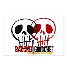 BadChef GoodChef Logo Postcards (Package of 8)