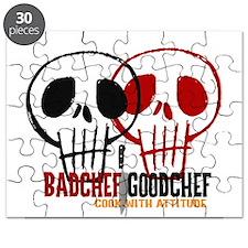 BadChef GoodChef Logo Puzzle