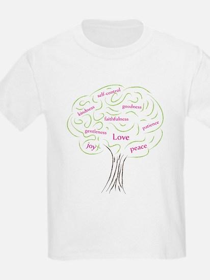 Cute Fruit of the Spirit Tree T-Shirt