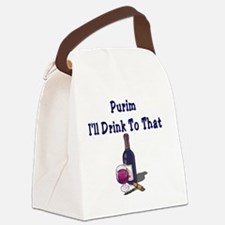 Purim Drink Canvas Lunch Bag