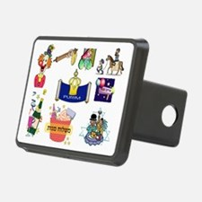 Purim Collage Hitch Cover