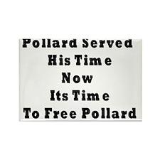 Pollard TIme Rectangle Magnet