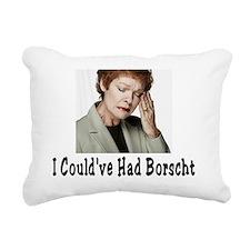 Borscht Rectangular Canvas Pillow