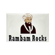 Rambam Rocks Rectangle Magnet