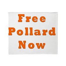 Free Pollard Orange Throw Blanket