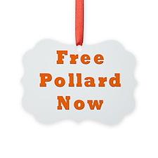 Free Pollard Orange Ornament