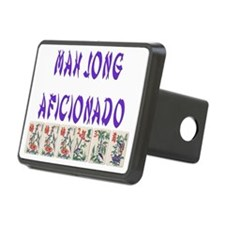 mah jong aficionador Hitch Cover