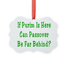 Purim Passover Ornament