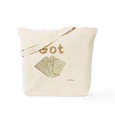 Got Matzoh 2 flat Tote Bag