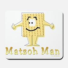 3-MAtzoh Man 2 flat Mousepad