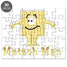 3-MAtzoh Man 2 flat Puzzle
