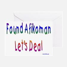Found Afikoman Greeting Card