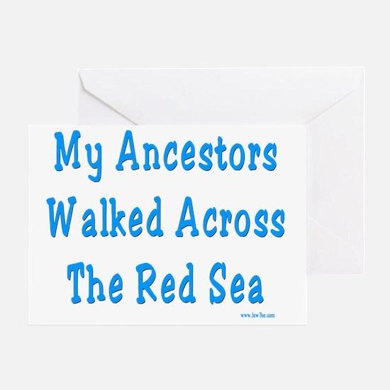 Red Sea2 Greeting Card