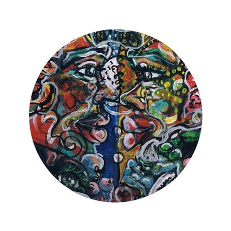 """Life's Intricacies 3.5"""" Button"""