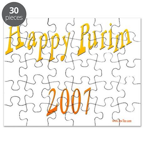 Happy Purim 2007 Puzzle