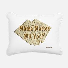 MAtzah Matter 2 Rectangular Canvas Pillow