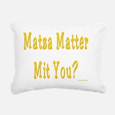 MAtzah Mattter Rectangular Canvas Pillow