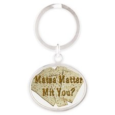 MAtza Matter Oval Keychain