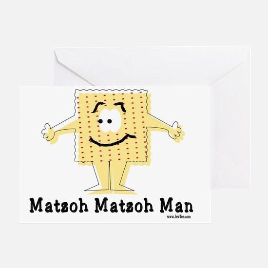 MAtzoh Matzoh Man Greeting Card