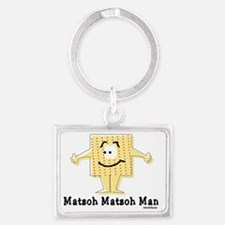 MAtzoh Matzoh Man Landscape Keychain
