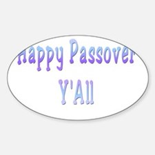Happy Passover yall8. flat Decal