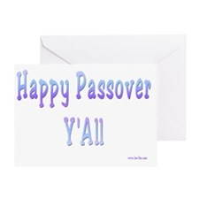 Happy Passover yall8. flat Greeting Card