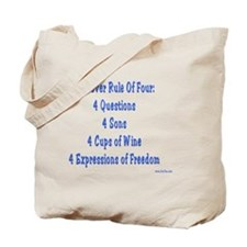 Rule Of Four Tote Bag
