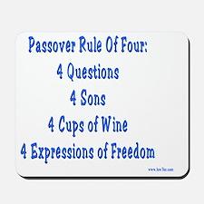 Rule Of Four Mousepad