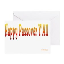 Happy Passover yall2 flat Greeting Card