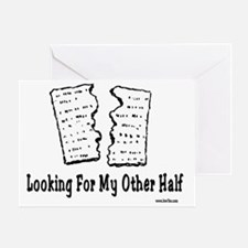 Looking For Other Half Greeting Card