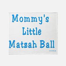 Mommys Matzah Ball 2 Throw Blanket