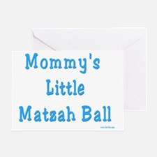 Mommys Matzah Ball 2 Greeting Card