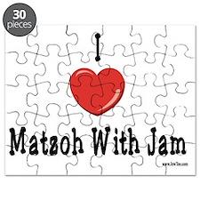 I Love Matzoh WIth Jam Puzzle