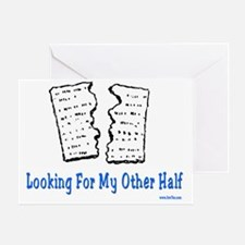Looking For Other Half 2 Greeting Card