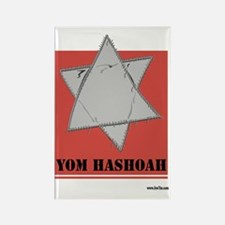 Holocaust 3 Rectangle Magnet