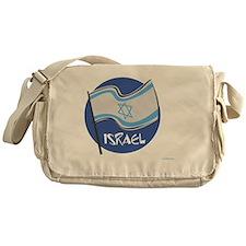 Israeli Flag Messenger Bag