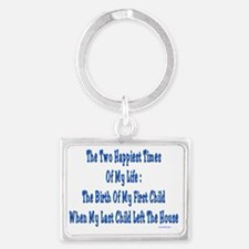 Happy TImes Landscape Keychain