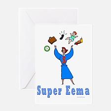 Super Eema Greeting Card