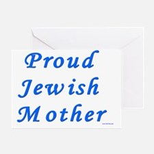 Proud Jewish Mother Greeting Card
