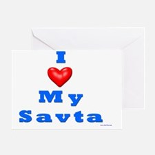 Love Savta Greeting Card