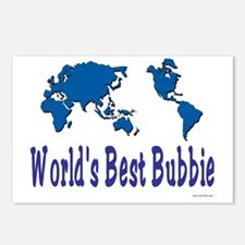 Worlds Best Bubbie Postcards (Package of 8)