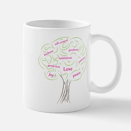 Cute Fruit of the Spirit Tree Mug