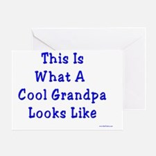 Cool Grandpa Greeting Card