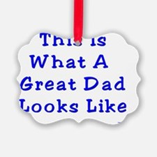 Great dad Ornament