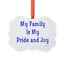 Pride and Joy Ornament