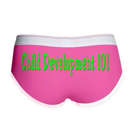 Child Development 101 Women's Boy Brief