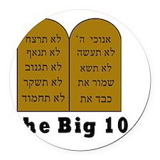 Big 10 Round Car Magnet