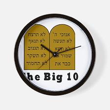Big 10 Wall Clock
